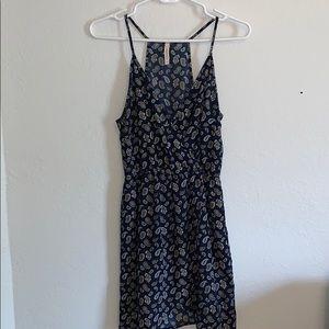 TOBI navy paisley sun dress